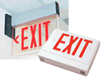LED & Electrical Exit Signs