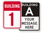 Building Number Signs