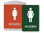 Buy All Women's Bathroom Signs
