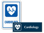 Cardiology Door Signs