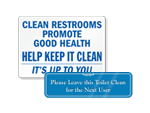 Clean Bathrooms