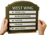 Custom Directory Signs