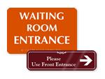 Custom Entrance Signs