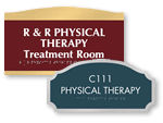 Custom Room Signs for Therapists