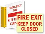 DiamondPlates™ Fire Exit Signs