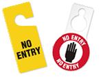 Do Not Enter Door Tags