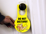 Door Hang Tags