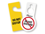 Do Not Disturb Door Hangers