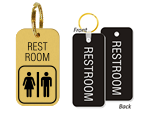 Bathroom Key Chains