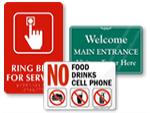 Facility Door Signs