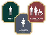 Florence Bathroom Signs