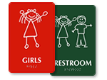 Fun Girls Room Signs