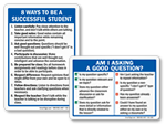 Student Etiquette Signs