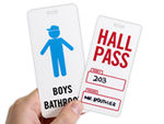 Hall and Bathroom Passes