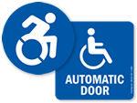 Handicap Access Labels