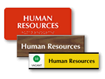Human Resources Signs