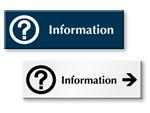 Information Door Signs