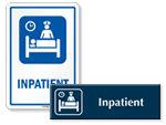 Inpatitent Door Signs