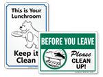 Keep Lunchroom Clean
