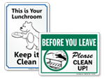 Keep Lunchroom Clean