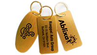 Brass Key Tags