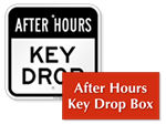 Key Drop Signs