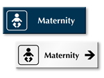 Maternity Door Signs