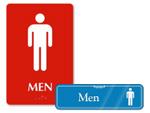 Mens Restroom Signs