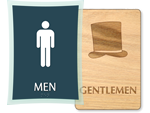 Mens Bathroom Signs