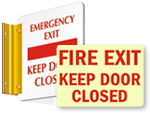 Fire Door Signs