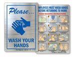 More Handwashing Stickers
