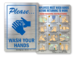 More Handwashing Stickers