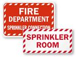 More Sprinkler Signs