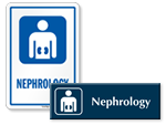 Nephrology Signs | Nephrology Door Signs