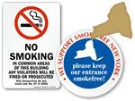 new york no smoking signs