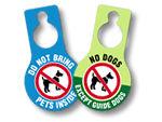 No Pets-Door Hangers