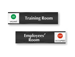 Office Door Sliding Signs