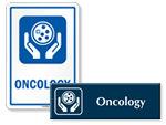 Oncology Door Signs
