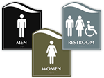 Pacific Bathroom Signs