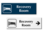 Recovery Room Door Signs