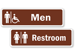 Bathroom Stickers & Labels