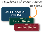 Room Name Signs