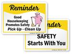Reminder Signs