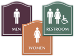 Santera Bathroom Signs