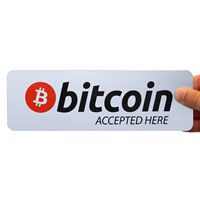 Bitcoin & Payment Signs