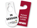 Custom Plastic Door Hangers