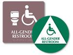 Transgender Restroom Signs