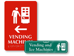 Vending Machine Signs