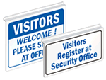 Hang-a-Sign™ Visitor Signs