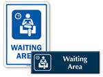 Hospital Waiting Area Signs